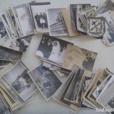 Fotografía antigua: LOTE DE 100 FOTOS FAMILIARES . DIVERSOS TEMAS .. Lote 278570448
