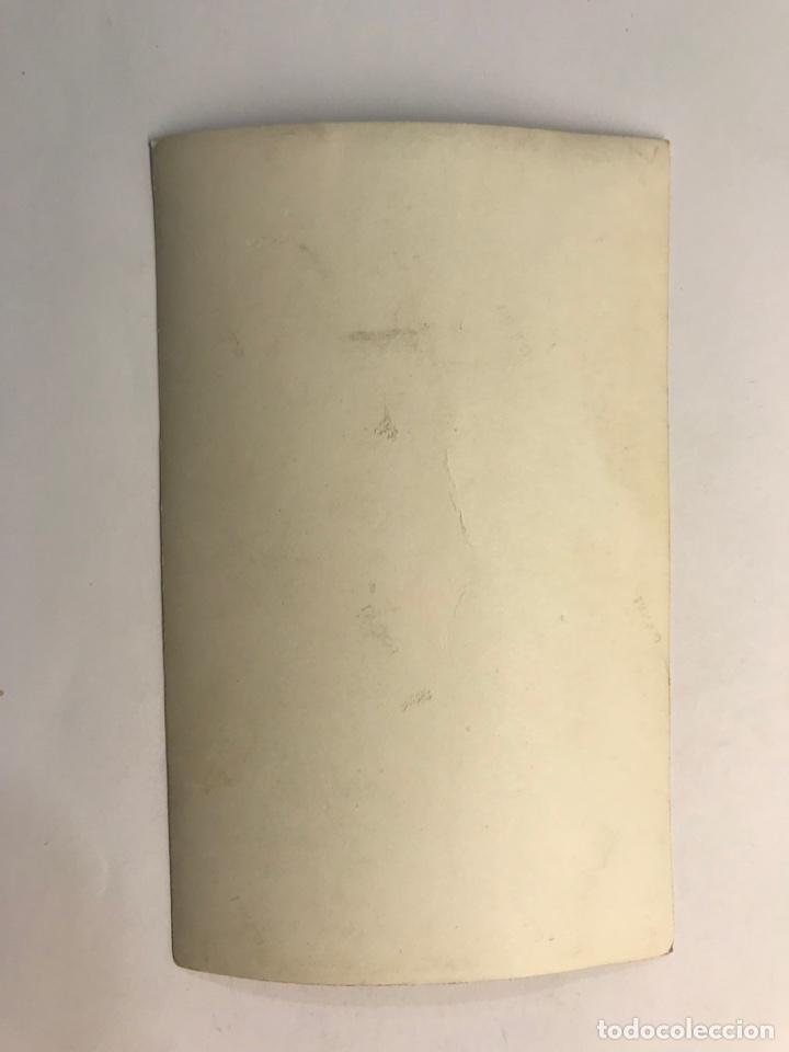 Fotografía antigua: MELIANA ALMASERA, Fotógrafia amb la Filla de Fallera (h.1950?) Medidas: 14 x 9 cm., - Foto 2 - 278600468