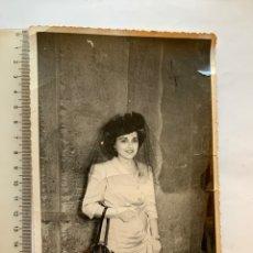 Fotografia antica: FOTO. GUAPA MADRINA DE BODA. F. G. OLALLA, FOTÓGRAFO. VALENCIA.. Lote 278808258