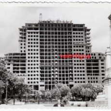 Fotografía antigua: IMPONENTE FOTOGRAFÍA DEL EDIFICIO ESPAÑA DE MADRID DURANTE SU CONSTRUCCIÓN (1948-53) AA. Lote 280645763