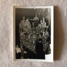 Fotografía antigua: SEMANA SANTA SEVILLA - CRISTO / MISTERIO HERMANDAD DE LA LANZADA. Lote 283692298
