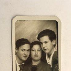 Fotografia antica: VALENCIA CAPITALIDAD DE LA REPUBLICA.. FOTOMATON DIAS DE UNA APARENTE LIBERTAD… (H.1935?). Lote 283846693