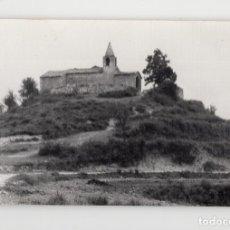 Fotografia antiga: EDIFICIO RELIGIOSO EN EL LLUÇANÉS, CATALUÑA. Lote 284147888