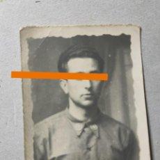 Fotografía antigua: ANTIGUA FOTOGRAFÍA. SOLDADO ESPAÑOL. AÑOS 30. MILITAR.. Lote 286666198