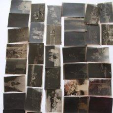 Fotografia antiga: LOTE DE 45 NEGATIVOS CLICHES DE FOTOGRAFIAS ANTIGUAS VER FOTOS 1920. Lote 286676628