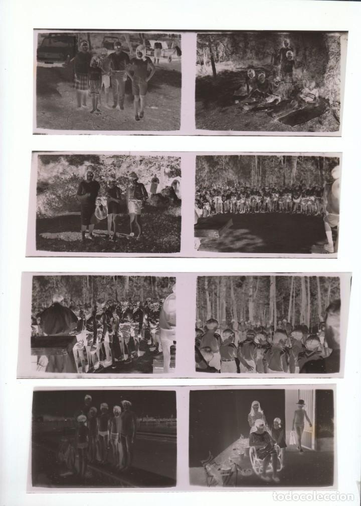 Fotografía antigua: Lote fantásticos negativos Boy Scouts? Campamento Niños Jovencitos en la piscina 70s sd - Foto 2 - 287668468