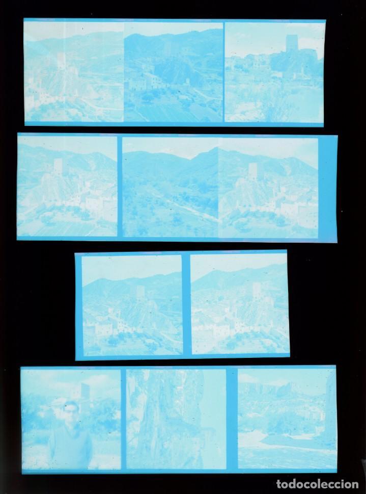 Fotografía antigua: Lote fantásticos negativos Montañas castillo torre de Sot de Chera, Valencia. 60-70s sd - Foto 2 - 287671048