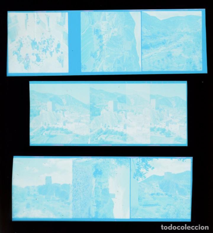 Fotografía antigua: Lote fantásticos negativos Montañas castillo torre de Sot de Chera, Valencia. 60-70s sd - Foto 2 - 287671388
