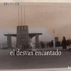Fotografía antigua: BISCUTER. BARCELONA 1957. FOTO ORIGINAL 10 X 8 CTMS. Lote 287907108