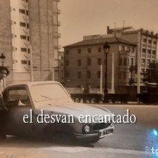 Fotografía antigua: AVENIDA DIAGONAL. BARCELONA 1959. FOTO ORIGINAL 10 X 8 CTMS. PEQUEÑO UTILITARIO BMW?. Lote 287909428