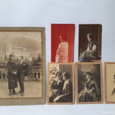 Photographie ancienne: 3 FOTOGRAFIAS, PEPE LLANES. ASTURIAS. AÑOS 30.. Lote 288029398