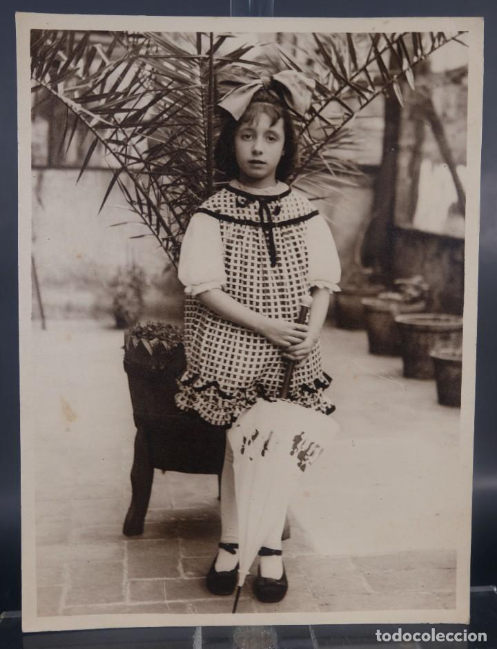 FOTOGRAFIA NIÑA AÑOS 30-40 (Fotografía Antigua - Fotomecánica)
