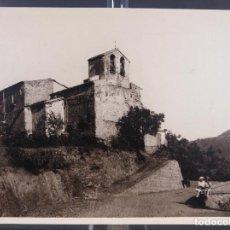 Fotografía antigua: FOTOGRAFIA VISTA IGLESIA CAMPO AÑOS 30-40. Lote 288213308