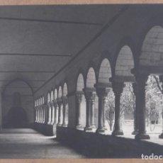 Fotografía antigua: FOTOGRAFIA TITULADA LEMA CLAUSTRA AÑOS 30-40. Lote 288213708