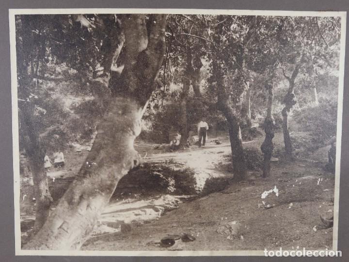 FOTOGRAFIA TITULADA LEMA FONTADES AÑOS 30-40 (Fotografía Antigua - Fotomecánica)
