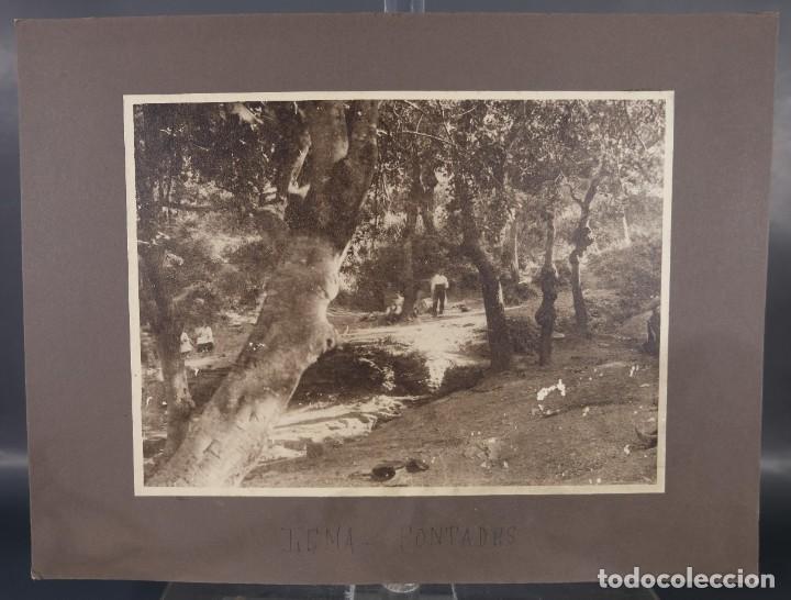 Fotografía antigua: Fotografia titulada Lema Fontades años 30-40 - Foto 2 - 288214758