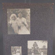 Fotografía antigua: FOTOGRAFÍAS NIÑOS AÑOS 20-30. Lote 288215713