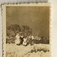 Photographie ancienne: PEÑÓN DE IFACH, CALPE.. FOTOGRAFÍA DESDE LO ALTO DEL PEÑÓN.. VERANO DE 1949. Lote 288416253