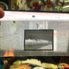 Fotografía antigua: ANTIGUO NEGATIVO FOTO EN CRISTAL - MEDIDA 5X13 CM -. Lote 288694928