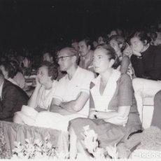 Fotografía antigua: ALCALDE DE TARRAGONA EN EL AUDITORI DEL CAMP DE MART – FESTIVALES DE ESPAÑA 14-08-1969. Lote 289651033