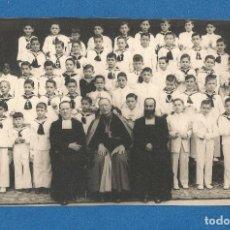 Fotografia antica: FOTOGRAFIA PRIMERA COMUNION COLEGIO MARAVILLAS MADRID AÑO 1955 FOTO GUILLEN. Lote 291041093