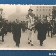 Fotografia antica: FOTOGRAFIA OBISPO DE ZARAGOZA FOTO SANCHO AÑOS CINCUENTA. Lote 291249593