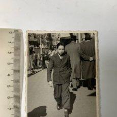 Fotografia antiga: FOTO. DESCUBRIENDO LAS CALLES DE LA CIUDAD. H. ABRAIRA, FOTÓGRAFO. VALENCIA, 12 FEBRERO 1951.. Lote 293940753