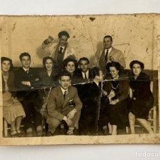 Fotografía antigua: MERIDA, FOTOGRAFÍA FAMILIAR PARA EL RECUERDO…(H.1950?) DESLUCIDA ... Lote 294574618