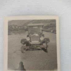 Fotografía antigua: FOTOGRAFÍA ANTIGUA COCHE FORD AÑO 1927. Lote 295407053