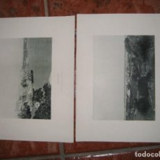 Fotografía antigua: 2 FOTOTIPIA DE HAUSER Y MENET MENORCA MAHON . FOTOGRAFIA ESPAÑA ILUSTRADA 1894 . 32/25 CM. Lote 295635678