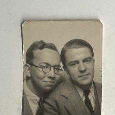 Fotografia antica: FOTOMATÓN PHOTOMATON. FOTOGRAFÍA AMIGOS UNIVERSITARIOS (A.1941). Lote 295870403