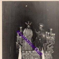 Fotografía antigua: SEMANA SANTA SEVILLA, AÑOS 60, MISTERIO HERMANDAD DE LA AMARGURA, 72X102MM. Lote 297021608