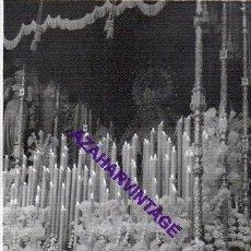 Fotografía antigua: SEMANA SANTA SEVILLA, AÑOS 60, VIRGEN DEL ROCIO, EL BESO DE JUDAS, 72X102MM. Lote 297021753