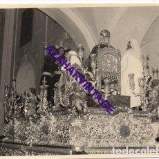 Fotografía antigua: SEMANA SANTA SEVILLA, AÑOS 60, MISTERIO HERMANDAD DEL DULCE NOMBRE, 72X102MM. Lote 297026653