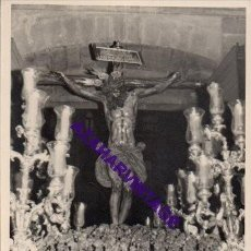 Fotografía antigua: SEMANA SANTA SEVILLA, AÑOS 60, STMO. CRISTO DEL AMOR, 72X102MM. Lote 297027033