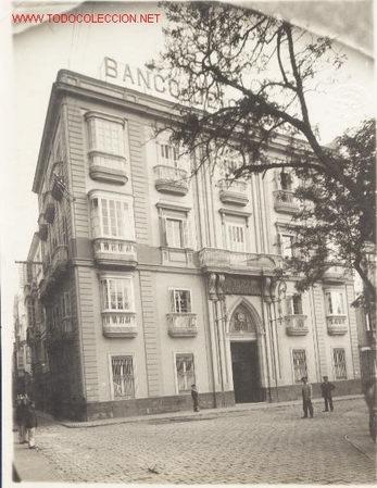 FOTOGRAFIA PRINCIPIO SIGLO XX.PLAZA DE SAN ANTONIO DE CADIZ.EL TREBOL (Fotografía Antigua - Gelatinobromuro)