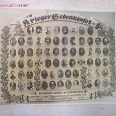 Fotografía antigua: FOTO DE MILITARES ALEMANES FECHADA ENTRE 1914 Y1918. Lote 18105656