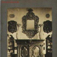 Fotografía antigua: FOTOGRAFIA ANTIGUA DE MOBILIARIO ESPAÑOL. MOLDURA BARROCO XVIII. MUEBLE RENACIMIENTO ITALIANO XVI. Lote 23192999