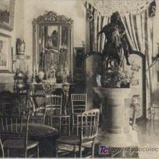 Fotografía antigua: MADRID, PALACIO DE FERNAN FLOR, COMEDOR, 9,5 13,5 CM. Lote 26609591