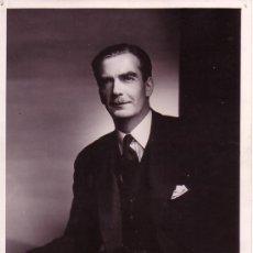 Fotografía antigua: SIR ANTHONY EDEN. PRIMER MINISTRO DE INGLATERRA. FOTOGRAFÍA DE YOSUF KARSH. Lote 13512098
