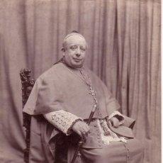 Fotografía antigua: FRANCESC DE POL, OBISPO DE GIRONA. 1914. PUBLICADO EN LA ILUSTRACIÓN ARTÍSTICA. Lote 12511750
