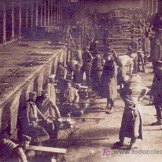 Fotografía antigua: 1ª GUERRA MUNDIAL. HORNOS DE COCER PAN DE LOS ALEMANES EN EL FRENTE RUSO.FOTO: R.PARRONDO,MADRID. Lote 11081405