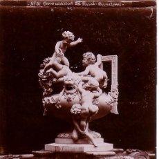Fotografía antigua: BARCELONA. JERRO ARTÍSTIC DEL PARC. 1900 APROX.. Lote 12303782