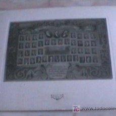 Fotografía antigua: PRECIOSA ORLA DE 1926 COVOCATORIA ACADEMIA DE FERROCARRILES WHYTE SANZ. Lote 26033951