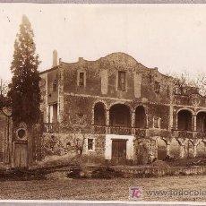 Fotografía antigua: ESPLUGAS DE LLOBREGAT. BARCELONA. MASIA CAN CLOTA, AÑO 1914. 22 X 15 CM. Lote 19924309