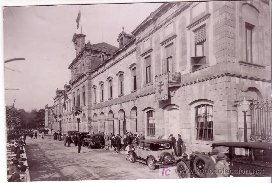 BARCELONA. INAUGURACIÓN DEL PARLAMENT DE CATALUNYA. AÑO 1932. FOTO: MERLETTI. (Fotografía Antigua - Gelatinobromuro)