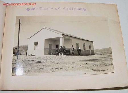 ANTIGUO CUADERNILLO CON 17 FOTOS ORIGINALES - INTERVENCIONES MILITARES DEL RIF - ESTADISTICAS - AÑO (Fotografía Antigua - Gelatinobromuro)