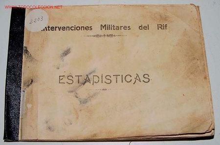 Fotografía antigua: ANTIGUO CUADERNILLO CON 17 FOTOS ORIGINALES - INTERVENCIONES MILITARES DEL RIF - ESTADISTICAS - AÑO - Foto 7 - 26742330
