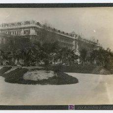 Fotografía antigua: BANCO DE ESPAÑA. PASEO DEL PRADO. INTERESANTE FOTO DE MÁS DE UN SIGLO. CIRCA 1905. Lote 24853706