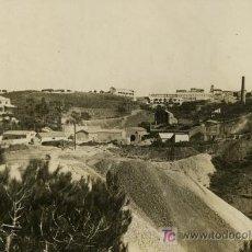 Fotografía antigua: FÁBRICA. INTERESANTE FOTO DE FÁBRICA. POSIBLEMENTE MARESME. BARCELONA. CIRCA 1910. Lote 24891469